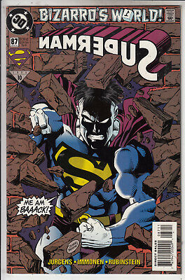 Superman   V2 # 87  Vfn / Vfn-  1994  D.c Comics American Comic