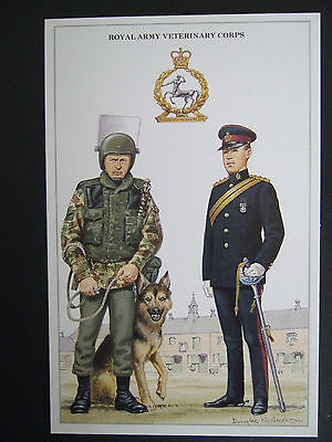 Military Postcard Royal Army Veterinary Corps