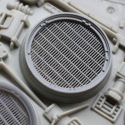 Exhaust Ports with Grilles and Fans for 29 inch Hasbro Hero Millennium Falcon