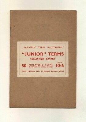 Philatelic Terms illustrated by 50 actual stamps, rare Stanley Gibbons booklet