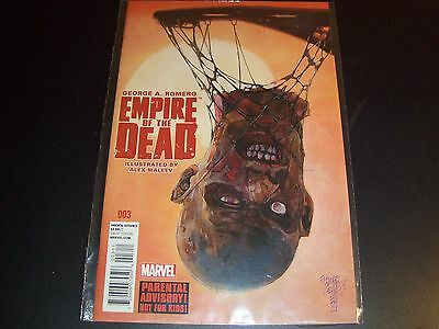 George Romero's Empire of the Dead Act 1 #3 1st print Night Dawn Dead Walking