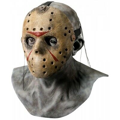 Deluxe Jason Overhead Mask Friday the 13th Adult Mens Collectors Costume Acsry