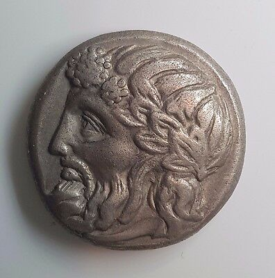Silver greek coin to be identified.