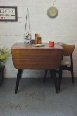 Vintage Mid Century G Plan Gomme Librenza Extending Drop Leaf Dining Table