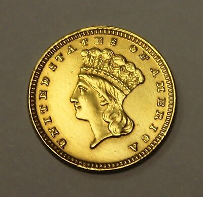 ( 1 ) 1884 $1 Gold Coin - Type 3 - Lot# G63