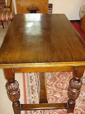 Old Oak Extending Dining Table