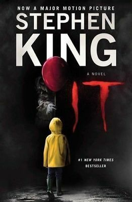 It : A Novel by Stephen King (2017, Paperback) FREE SHIPPING
