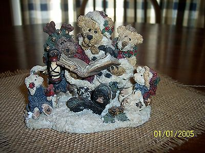 Boyds Bears & Friends Grenville The Story Teller - 1322 Style# 2265 Limited Edit