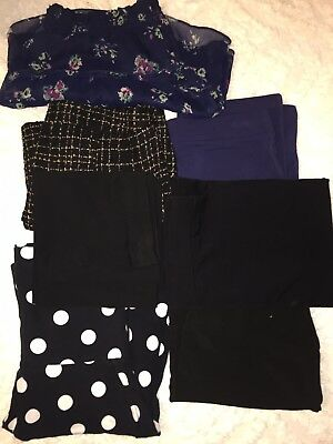 Womens Misses Skirts Bottoms Forever 21 American Eagle Arie * Lot of 7 *MED