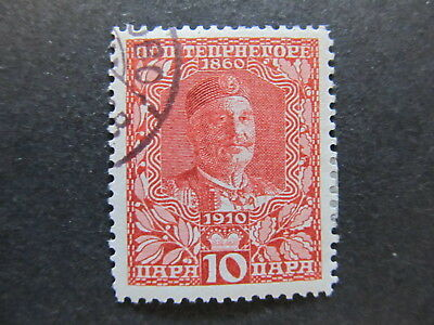 A5P23 Montenegro 1910 10pa used #81