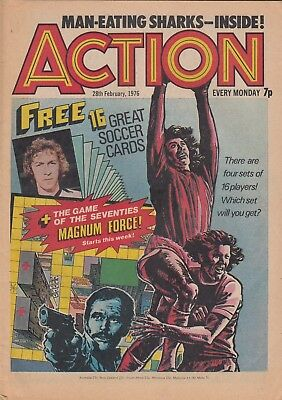 Action comic issue 3 - 28th Feb 1976 - Hook jaw