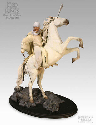 Gandalf the White on Shadowfax Sideshow Weta Statue Lord of the Rings Hobbit