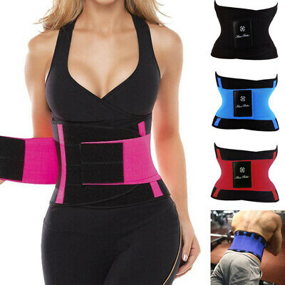 38b4247b688 Xtreme Power Belt Thermo Hot Power Waist Trainer Body Shaper Tummy Corset  Girdle