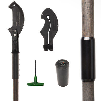 Zubin Axe Survival Hiking Staff & Axe Attachment