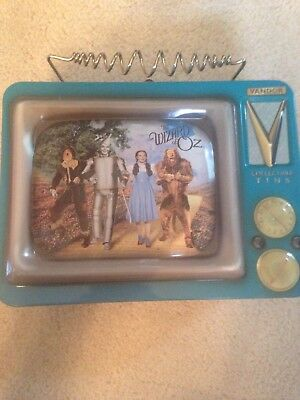 The Wizard Of Oz Collectible Tin Lunch Box Vandor Dorothy & friends.