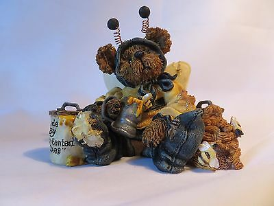 "Boyds Bears & Friends, ""Sweeter Than Honey"" #227718 Bumble B. Bee Excellent"