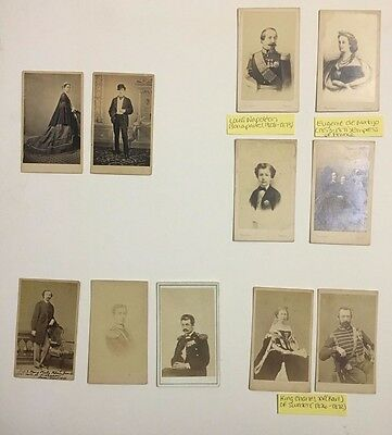 Antique Photographs Collection of Russian and European Royalty