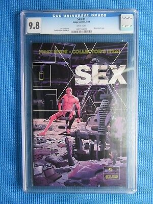 Sex # 1 - Cgc - (9.8) - First Issue - Wraparound Cover - White Pages