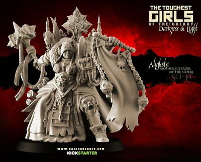 Raging Heroes TGG2 Augusta, Mother Superior 28mm Sisters of Battle Proxy