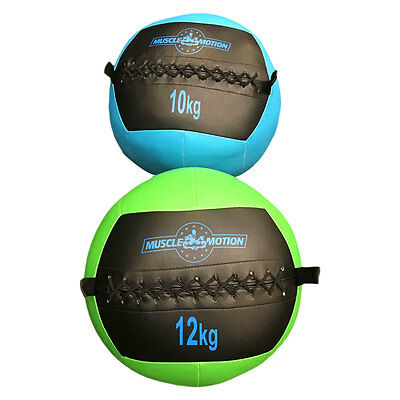 Muscle Motion 10kg + 12kg Wall Ball Package For Gym Fitness Training Crossfit