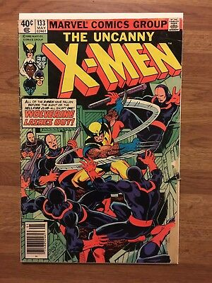 Marvel Comics The Uncanny X-Men #133 1st Wolverine Solo Bronze Age Low Grade