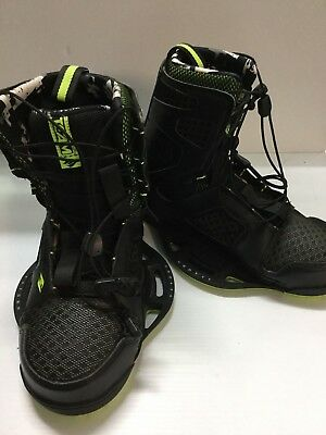 Hyperlyte Team C/l Wakeboard Bindings - Size 9-10