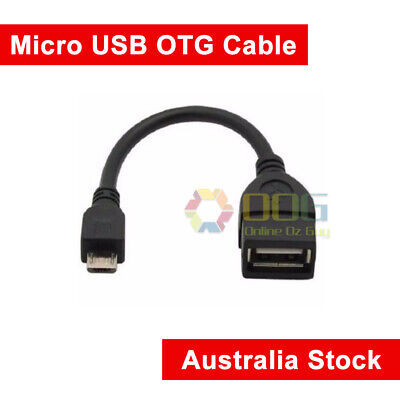 Micro USB Cable Male Host to USB OTG Female Adapter Android Tablet Phone PDA PC