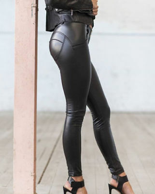 Wetlook Leggings Kunstleder Latex im Freddy Wr Up Style neu Gr. S