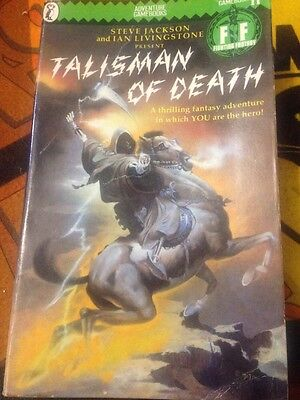 Fighting Fantasy Talisman of Death Ian Livingstone  (Paperback, 1985)