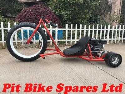 New Red 200cc Big Wheel Drift Trike, Clearance Price Inc Delivery