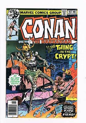Conan # 92 The Thing in the Crypt ! grade 9.0 scarce book !!
