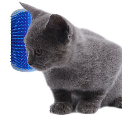 For Pet Cats Self Groomer Brush Wall Corner Massage Grooming Brushes Combs DIY