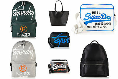 New Unisex Superdry Bags Selection - Various Styles & Colours 1209