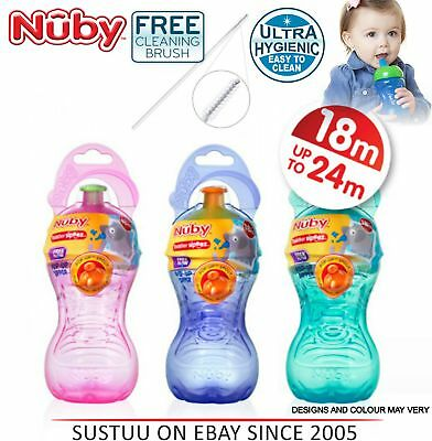 Nuby Free Flow Pop-Up Sipper Cup