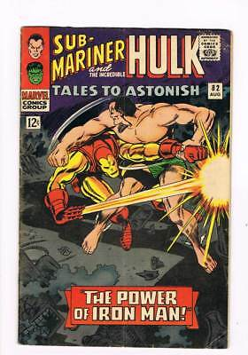 Tales to Astonish # 82  The Power of Iron Man !  grade 4.0 scarce book !!