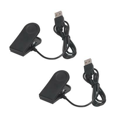 2Pack For Garmin forerunner 35 Watch Charging Cradle / Data Clip USB Charger