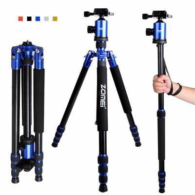 ZOMEI Z818 Pro Aluminum Travel Tripod Monopod&Ball Head for DSLR Camera