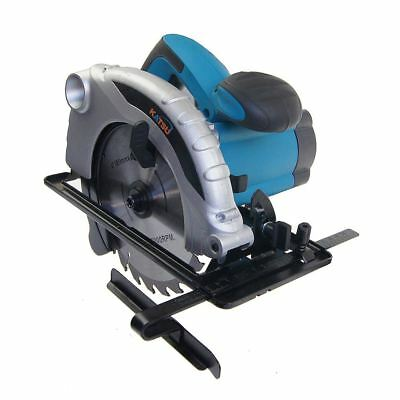 KATSU 100793  Corded Compact Circular Saw 185mm 1300W With Blade UK Plug
