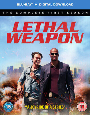 Lethal Weapon: The Complete First Season Blu-Ray (2017) Damon Wayans cert 15 3
