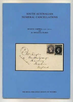 SOUTH AUSTRALIA NUMERAL CANCELLATIONS, Campbell & Pearce, Australian postmarks