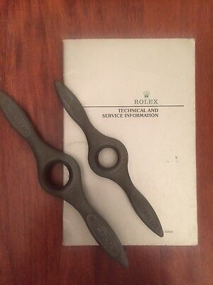 Rolex Oyster Watch Case Openers And Service Manual