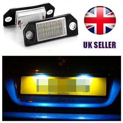 LED NUMBER LICENSE PLATE LIGHTS LAMP For FORD FOCUS ST 225 2006-2008 Pre-Faclift