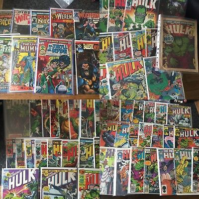 Marvel-DC Silver Age-to Present Rare Comic Collection,spiderman Hulk X-men