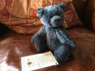 Limited Edition Steiner Teddy Bear with label - OSKAR