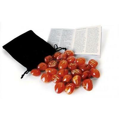 Red Carnelian Boxed Runes Kit!