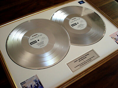 Oasis Definitely Maybe Double Lp Platinum Disc Record Award Album
