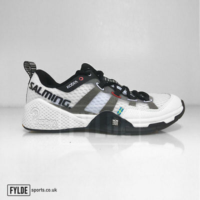 Salming Kobra Indoor Court Mens Squash Shoes Limited Edition White