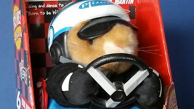 Gemmy Dancing hamster Mark Martin #6 Car Born to be Wild Animated Plush Animal