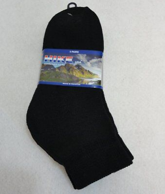 Bulk Lot of 240 Pairs Mens Black Ankle Socks FREE SHIPPING!!! sz 9-11