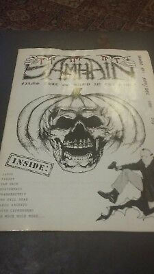 Samhain Horror Fanzine Issue Number One 1986 Very Nice Condition